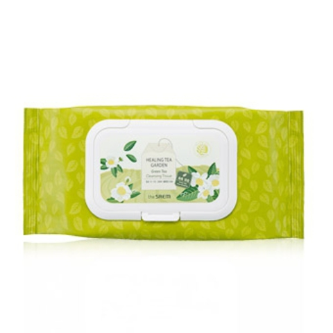 Healing Tea Garden Green Tea Cleansing Tissue