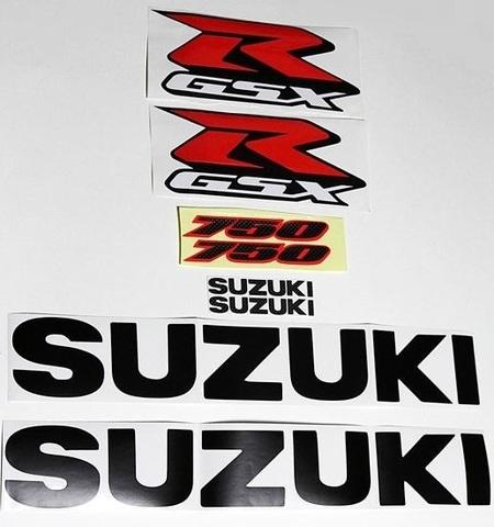 Набор виниловых наклеек Suzuki GSX-R 750