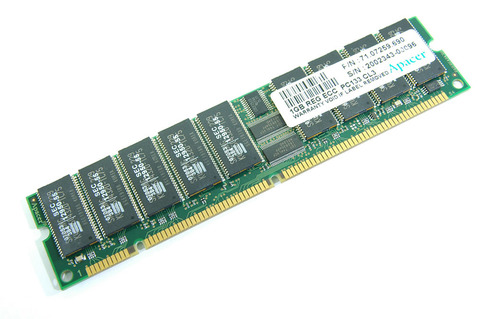 Apacer 1GB REG ECC PC133 CL3
