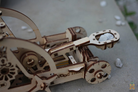 Деревянные конструкторы Wood Trick. Модель - Катапульта