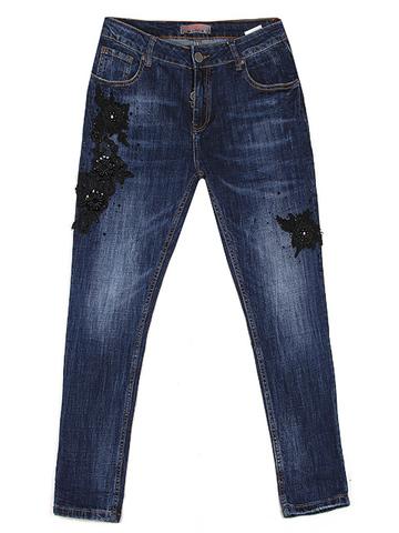 LA5676 джинсы женские, синие
