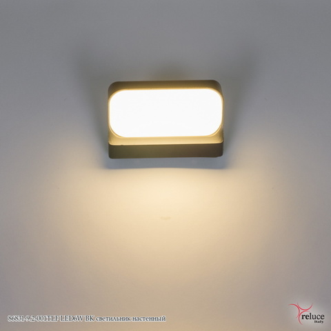 86831-9.2-001TLF LED6W BK светильник настенный
