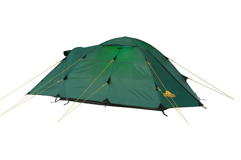 палатка туристическая Alexika NAKRA 3 green, 415x190x115