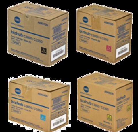 KT026015 - Тонер-картридж Konica Minolta Toner Cartridge TNP49 комплект (C,M,Y,K) 4шт.