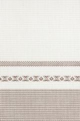 Полотенце кухонное 50х70 Luxberry Breakfast белое