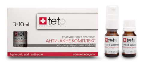 Tete Hyaluronic acid + Anti-acne complex - Гиалуроновая кислота + Анти-акне комплекс