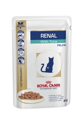 Royal Canin Vet Renal pouch with tuna