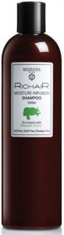 Шампунь «Интенсивное увлажнение» с маслом авокадо, Richair Egomania,400 мл.