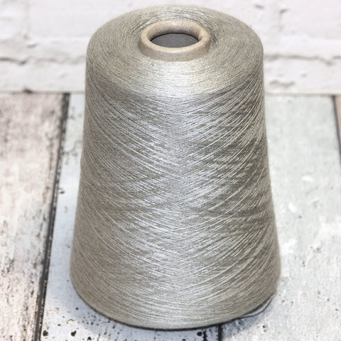 Кашемир с шелком (30%) CARIAGGI JAIPUR 2/48 светло-серый