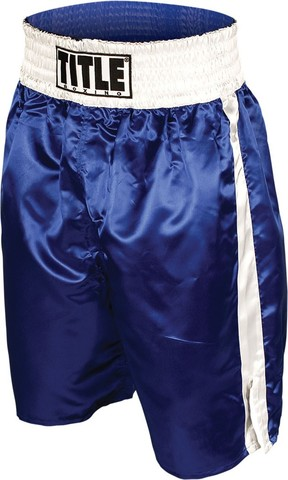 шорты тайтл боксинг синие