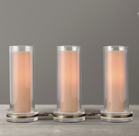 Cerceau Link Candleholders Tall (Set of 3)