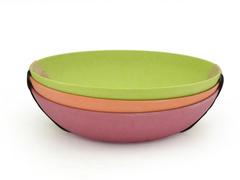 7158 FISSMAN Набор глубоких тарелок 20 см / 3 шт