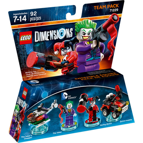 LEGO Dimensions: Team Pack: Джокер и Харли Куин 71229 — DC Comics Team Pack Set — Лего Измерения
