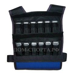 Жилет-утяжелитель «Компакт 2 » 24 кг размер 48-52