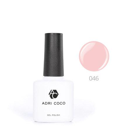 Цветной гель-лак ADRICOCO №046 светло-персиковый (8 мл.)