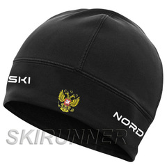 Лыжная шапка Nordski Active RUS Black 2020