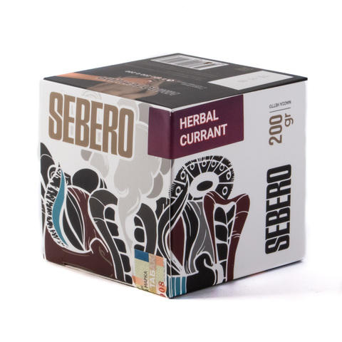 Табак Sebero Herbal Currant (Ревень-Смородина) 200 г