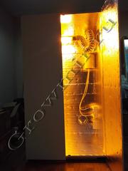 Гроубокс под ключ для выращивания растений с размерами 180x100x80 с ДНАТ освещением
