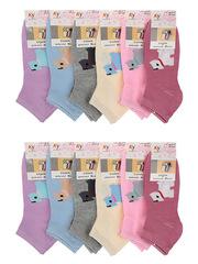 C41 носки женские 37-41 (12шт), цветные