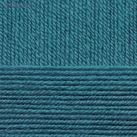 Пряжа Элегантная (Пехорка) 14 Морская волна - фото
