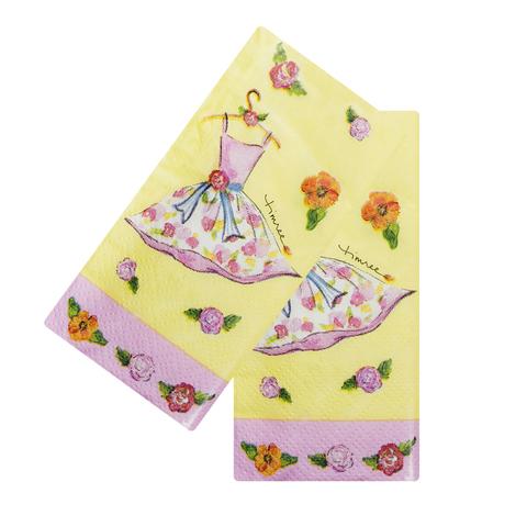 Платочки бумажные Dress