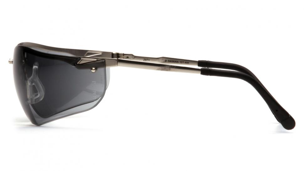 Очки баллистические стрелковые Pyramex Venture 2 SGM1820S серые 23%