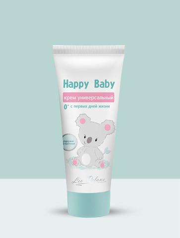 Liv delano Happy Baby Крем универсальный с первых дней жизни 0+ 75г