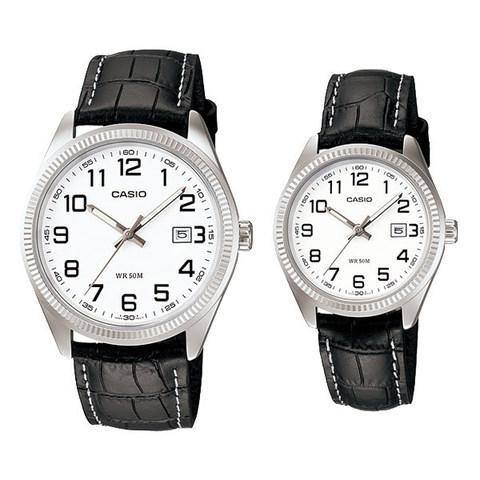 Купить Парные часы Casio Standard: MTP-1302L-7BVDF и LTP-1302L-7BVDF по доступной цене