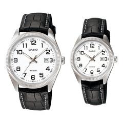 Парные часы Casio Standard: MTP-1302L-7BVDF и LTP-1302L-7BVDF