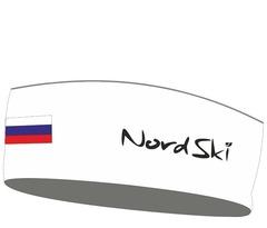 Повязка NordSki Active White Rus (OFSA)