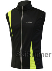 Лыжный жилет Nordski Active Black/Lime