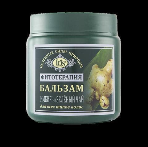 Iris Фитотерапия Бальзам Имбирь и Зеленый чай 500 мл