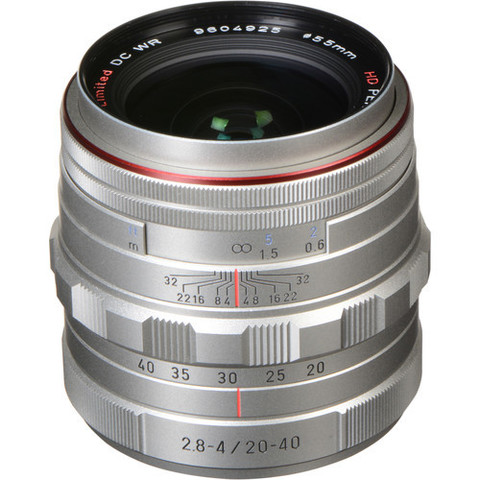Объектив Pentax HD DA 20-40mm f/2.8-4 ED Limited DC WR Silver для Pentax