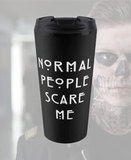 Термокружка NORMAL PEOPLE SCARE ME