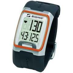 Наручные часы Sigma 23113 с пульсометром PC 3.11 orange