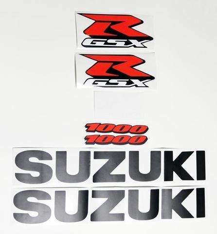 Набор виниловых наклеек Suzuki GSX-R 1000