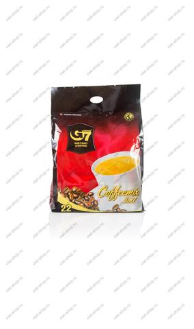 Вьетнамский растворимый кофе G7 3 в 1, 22 пак.