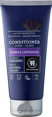 Urtekram Органический кондиционер для волос Пурпурная Лаванда, 180 мл