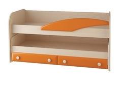 Кровать двухъярусная СБ-45 б/матр