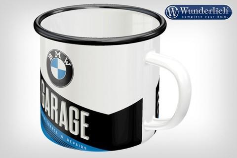 Эмалированная кружка BMW Garage