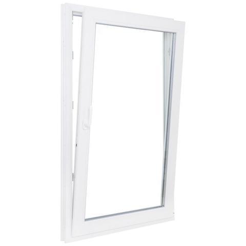 Окно ПВХ одностворчатое 90х60 см поворотно-откидное правое  по ОПТОВОЙ цене - Купить в Казани
