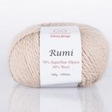 Пряжа Infinity Rumi 0021 светлый беж