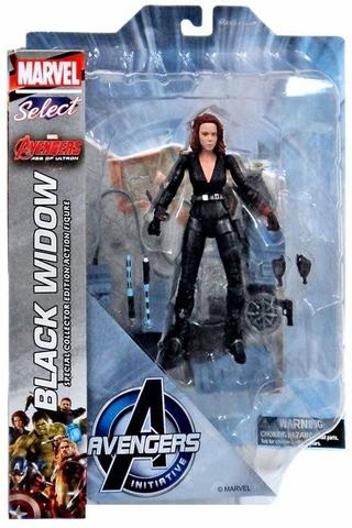 Diamond Select Toys Marvel Select: Avengers Age of Ultron: Black Widow Action Figure 89 руб.