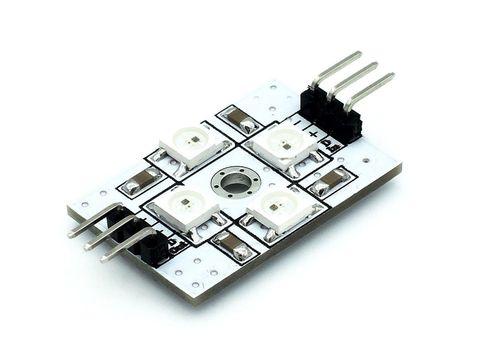 Модуль адресных светодиодов (х4)