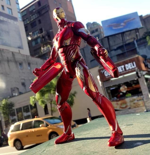 Фигурка Железный Человек Mark 50 Marvel Select