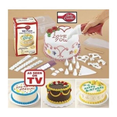 Набор для украшения торта 100 piece cake decoration kit