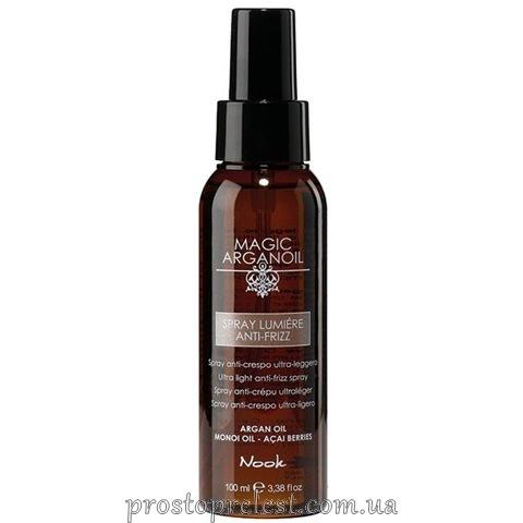 Nook Magic Arganoil Spray Lumiere Anti-Frizz — Спрей с антистатическим эффектом