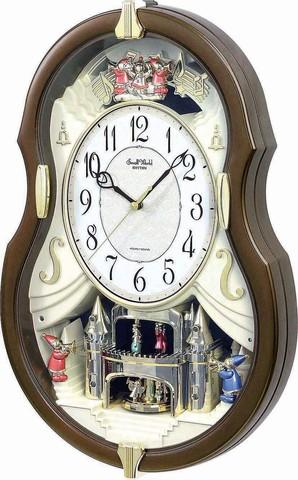 Настенные часы Rhythm 4MH829WD06