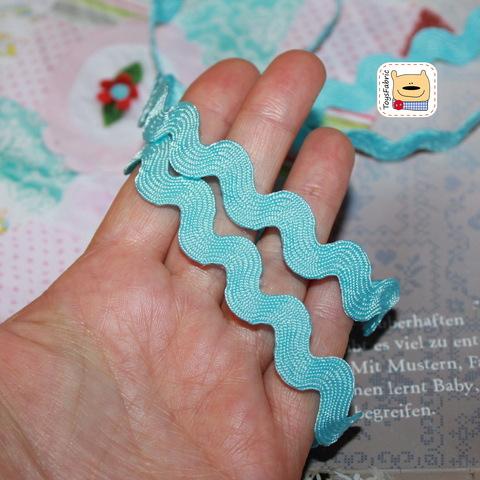 Вьюнчик 9мм (голубой) ЛВШ7  (1 ярд)