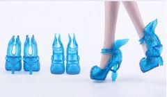 Туфли для кукол Эвер Афтер Хай и Монстр Хай (голубые)
